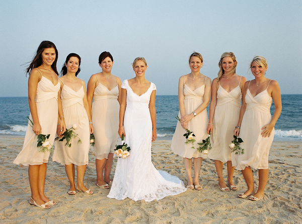 Bridesmaids Shoes For Beach Wedding Unique Ideas