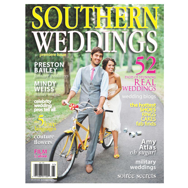 Southern Weddings premiere issue 1