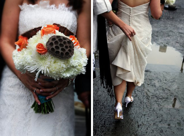 Real wedding: Carrie + Jonathan 1