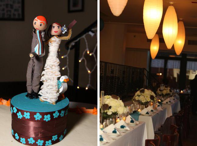 Real wedding: Carrie + Jonathan 2