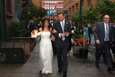 Real wedding: Carrie + Jonathan 3