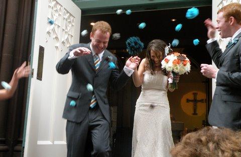 Real wedding: Carrie + Jonathan 6