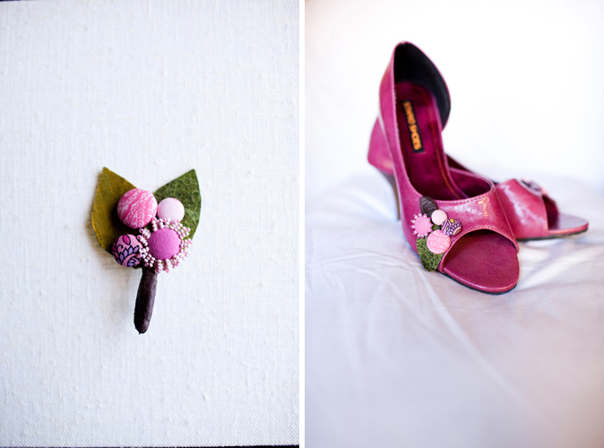 43.real wedding jesse leake shoes boutonnieres