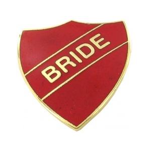 school badge - bride
