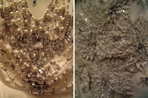 reem acra dress details