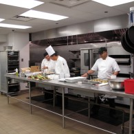 The Plaza Hotel kitchen