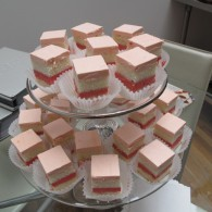 Ron Ben Israel cake tasting