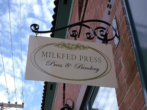 milkfed sign