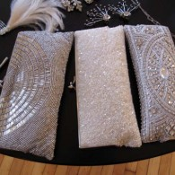 gabriella bridal salon beaded clutch