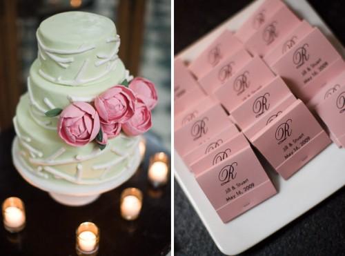 real wedding jill_stuart favors cake