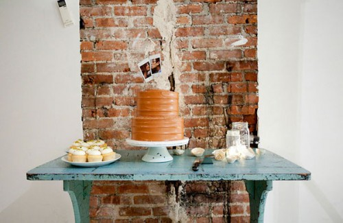 jenny ebert photography - wedding cake and cupcakes