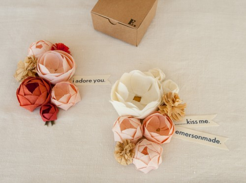 emersonmade corsage