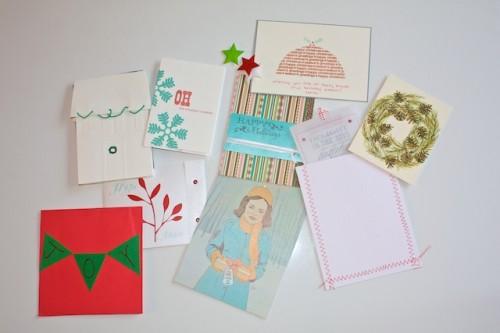 brooklyn bride card swap 2009