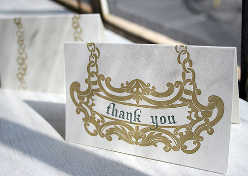 smock thank you note