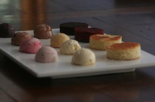 studio tour - sugar couture tasting