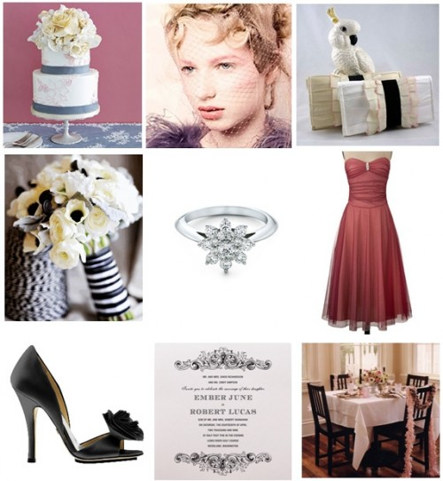 inspiration board for brooklyn bride