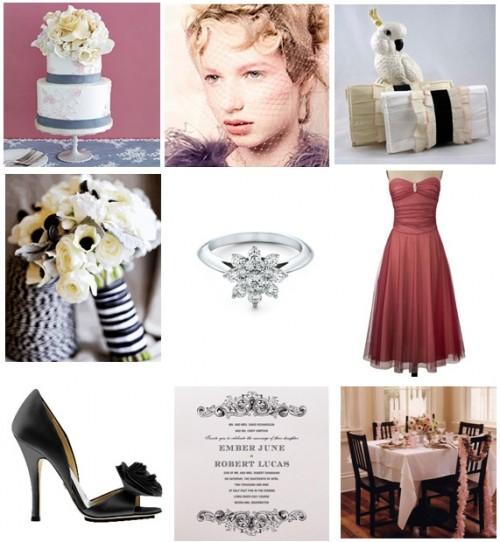 inspiration board for brooklyn bride