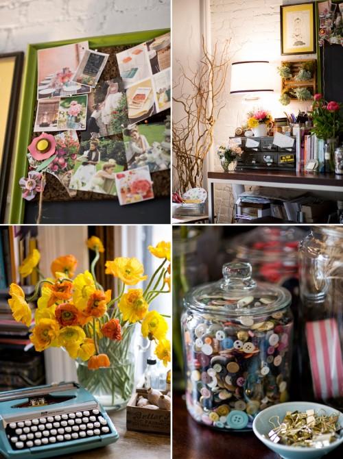 Studio tour: poppies & posies 8