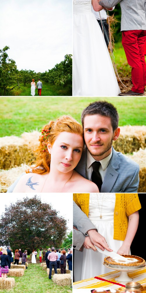Real wedding: Danielle + Stephen 14