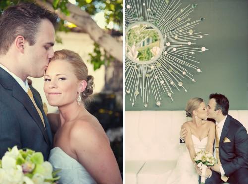 Real wedding: Laura + Jeremy - Brooklyn Bride - Modern