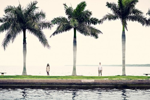 miami engagement shoot