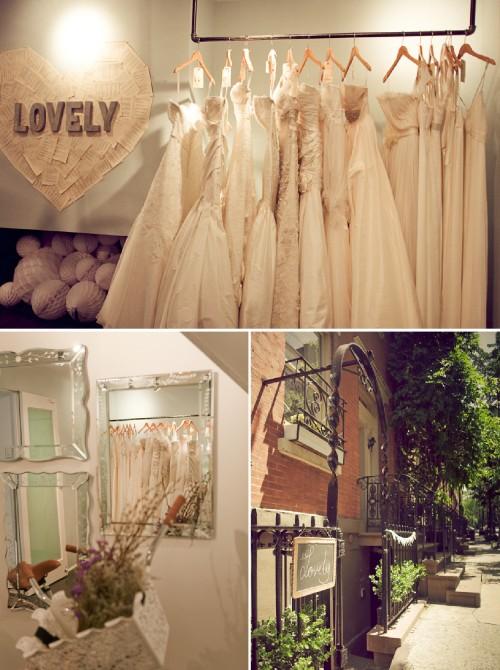 lovely bridal shop