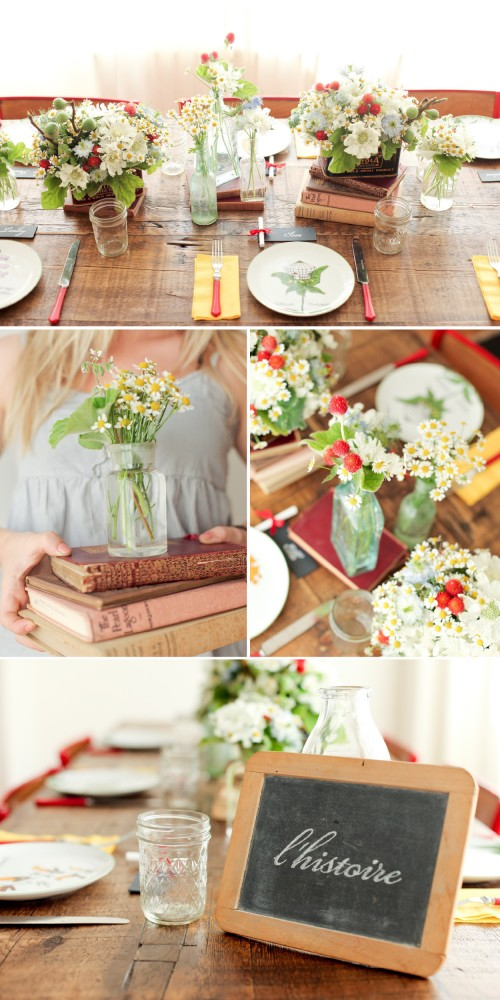 Outside the Flowerbox: Vintage schoolhouse inspiration 3