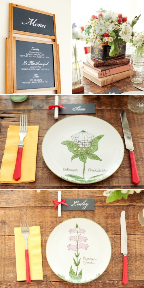 Outside the Flowerbox: Vintage schoolhouse inspiration 1