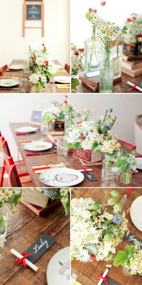 Outside the Flowerbox: Vintage schoolhouse inspiration 2