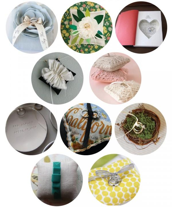 top ten modern ring pillows
