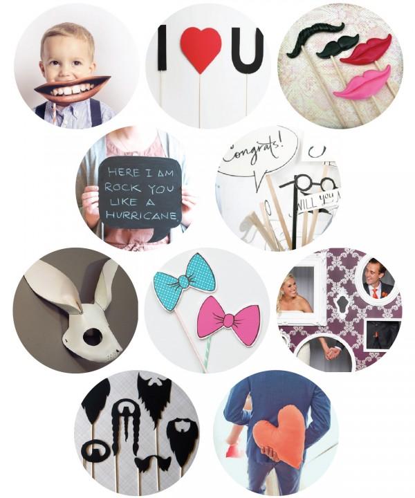 top ten photobooth props