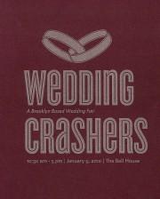 wedding crashers program cover