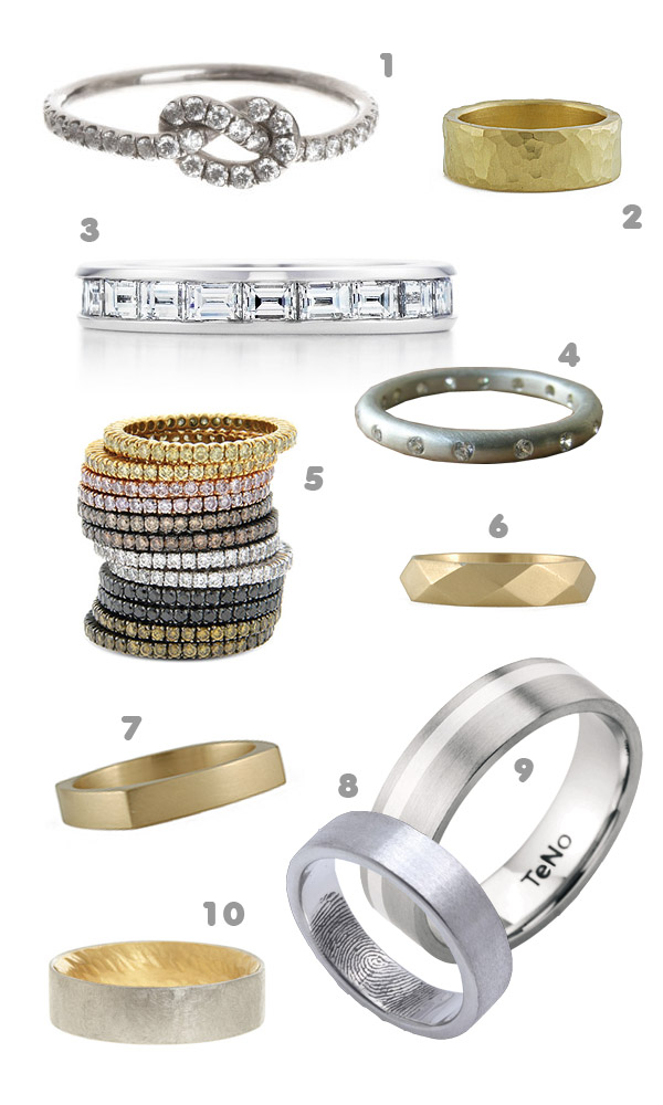 Top 10: Modern wedding bands 1