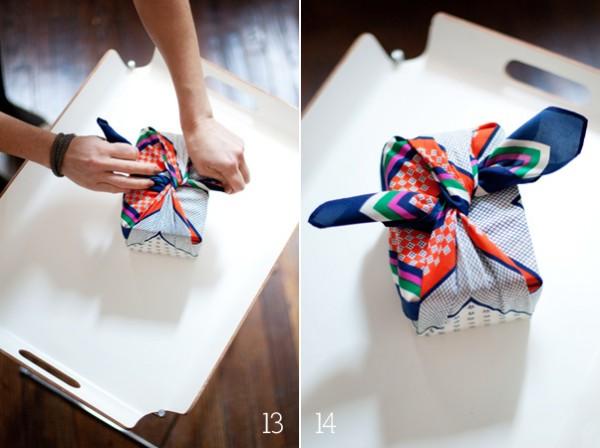 You + Me* DIY: Furoshiki wrapping 5