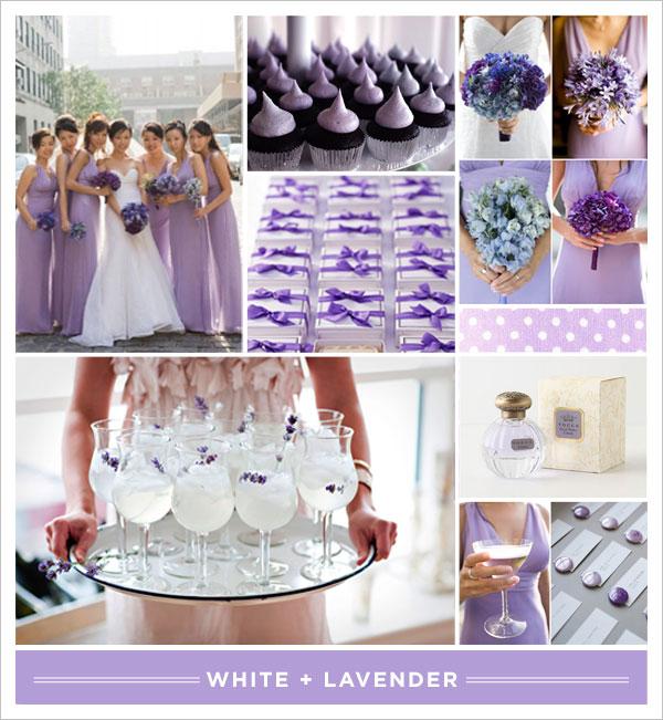 White +] Lavender - Brooklyn Bride - Modern Wedding Blog