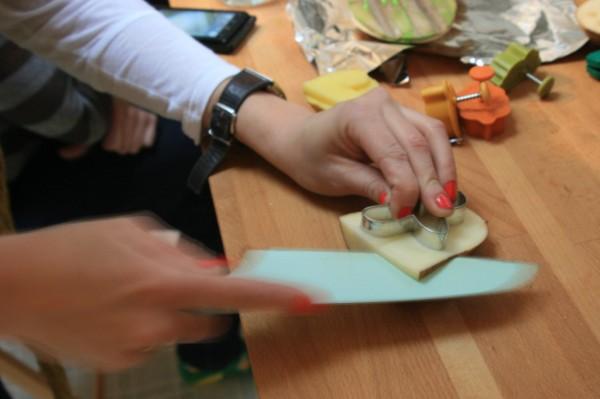 Hens & Chicks: Potato stamping DIY 12