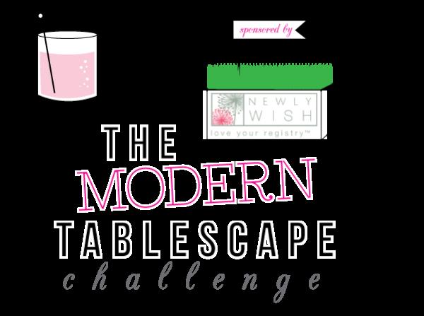 Tablescape challenge: Kelly Wearstler inspired 1