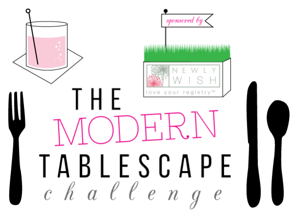 Tablescape challenge: Chic and simple 1