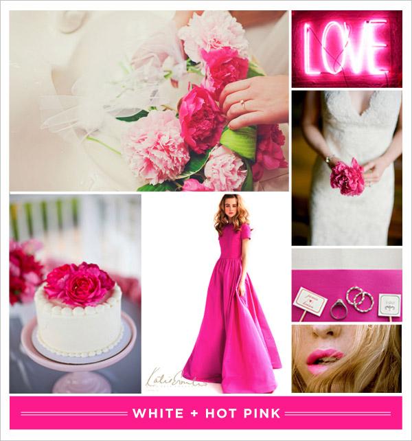 [White +] Hot Pink 1