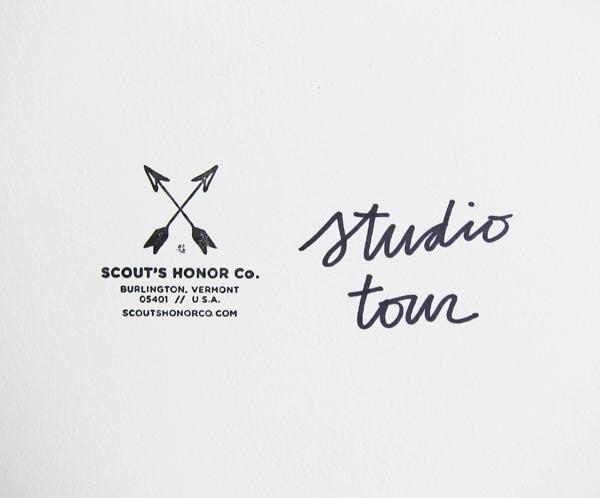Studio tour: Scout's Honor Co. 6
