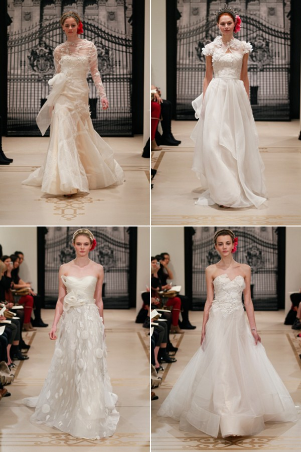 Wedding dresses from Reem Acra SS2012 2