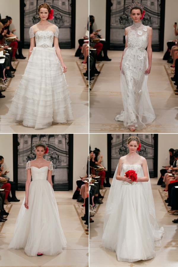 Wedding dresses from Reem Acra SS2012 1