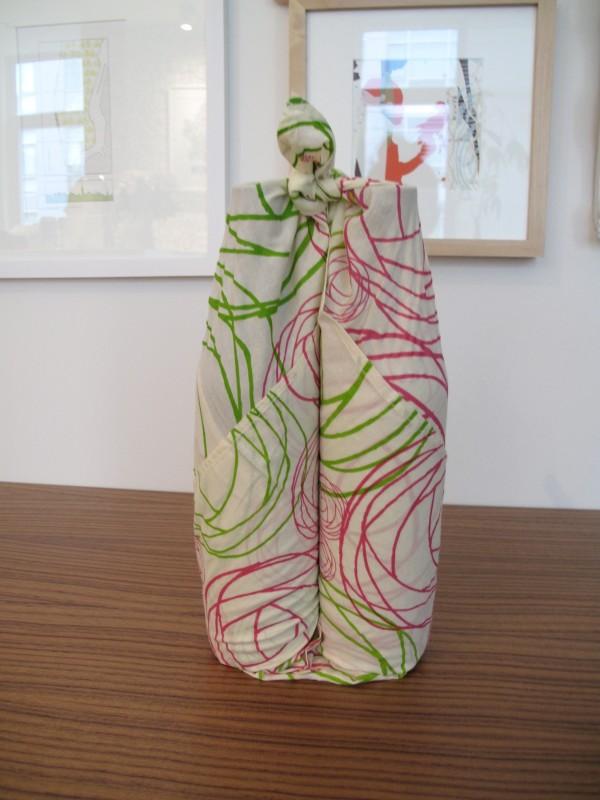 DIY Wine bottle wrap 6