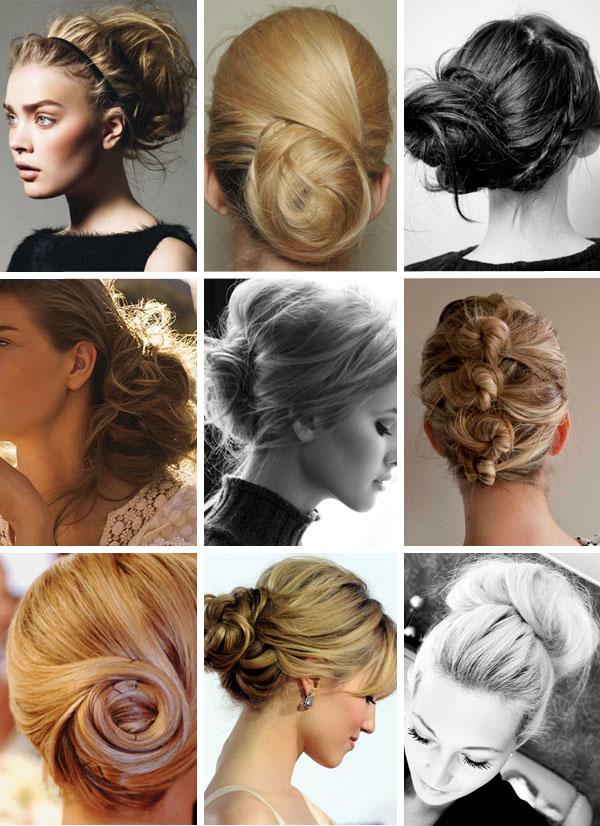 Phi-Style: Bridal Bun Hair - Brooklyn Bride - Modern Wedding Blog
