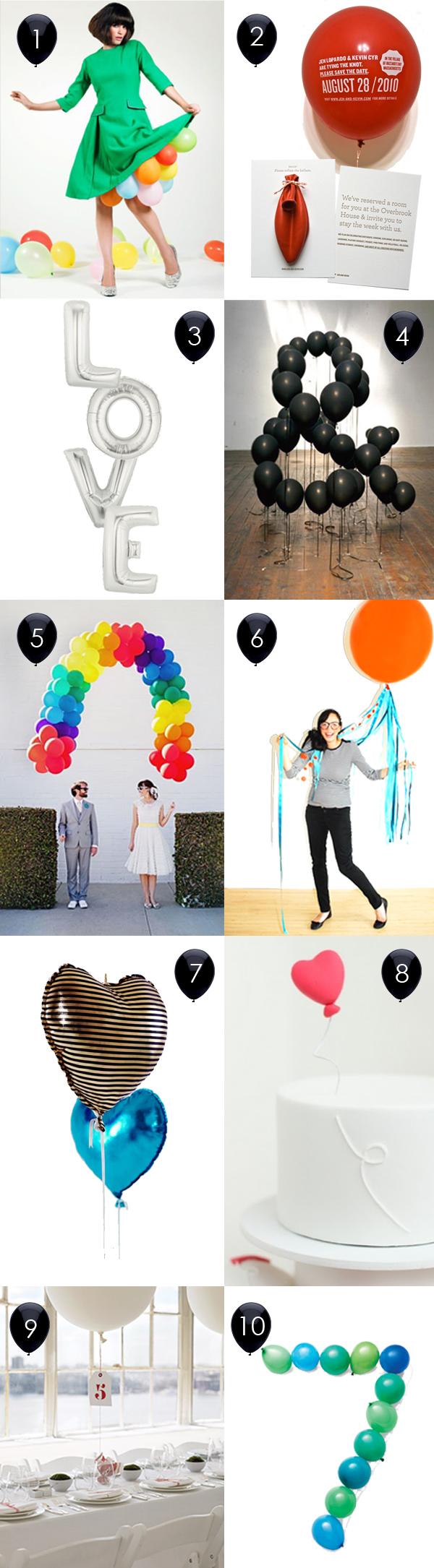 Top 10: Balloon decor 1