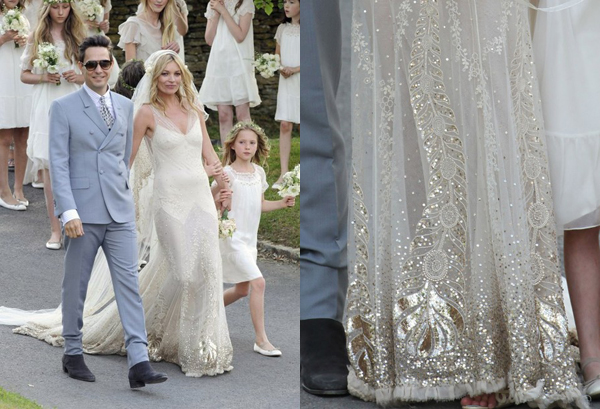Phi-Style: Kate Moss Wedding - Brooklyn Bride - Modern Wedding Blog