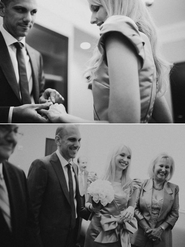 City Hall wedding: Vanessa + Justin 14