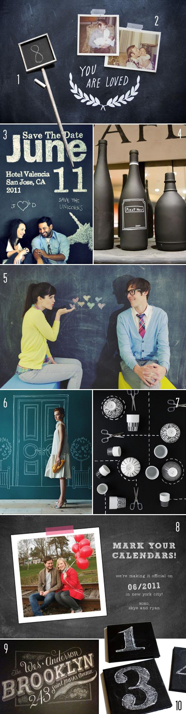 Top 10: Chalkboard details 1