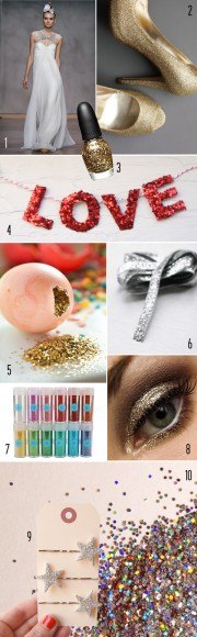 glitter details