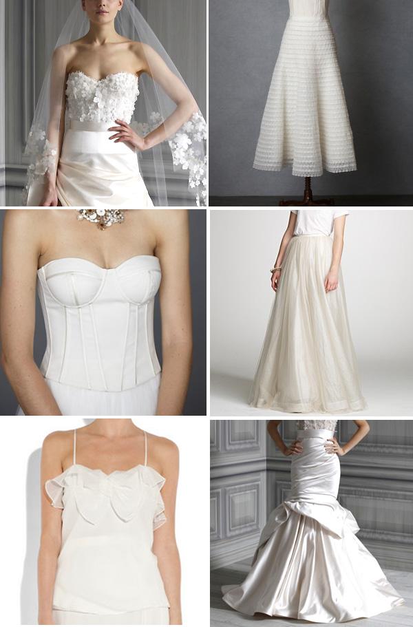 Modern Wedding Dress Separates : Phi style bridal separates brooklyn bride modern wedding